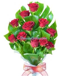 Buchet 11 trandafiri
