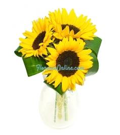 Buchetel floarea soarelui