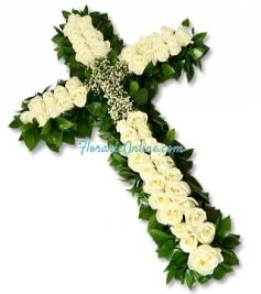 Cruce din trandafiri