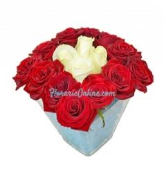 Trandafiri in cub